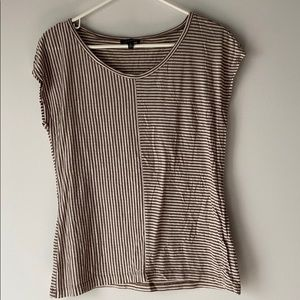 The Limited mixed stripe tee